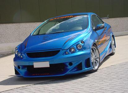 Тюнинг Peugeot 307CC. Ямакаси