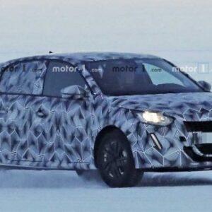 На тестах замечен новый Peugeot 208