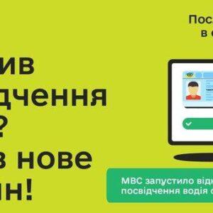Загублені водійські права відтепер можна відновити онлайн (ВІДЕО)