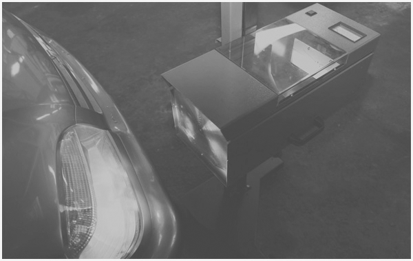 Перевірка і регулювання напрямку світла фар