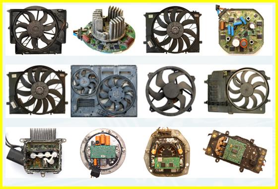Ремонт електронних вентиляторів для охолодження радіаторів двигуна і кондиціонера